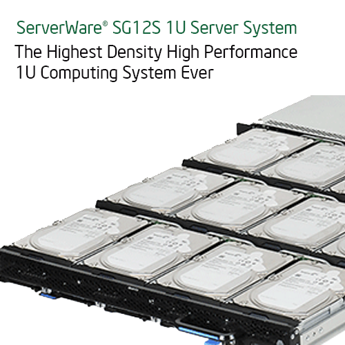 Serverware SG12S 1U Storage server