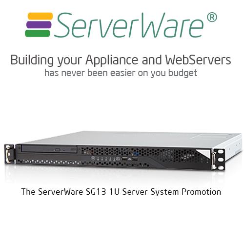 ServerWre Sg13 1U Server Promotion