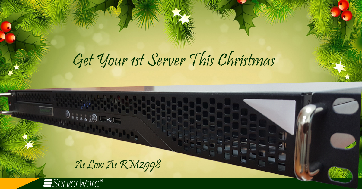 ServerWare® SG13 Christmas Servers Promotions